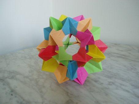 Papiroflexia modular 4 video para hacer una estrella - Origami de una estrella ...